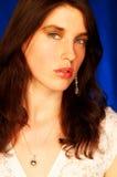 Brunette model pose Stock Image