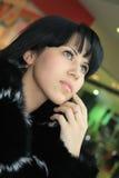 Brunette novo bonito Fotografia de Stock Royalty Free