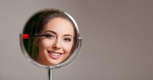 Brunette novo lindo Imagens de Stock