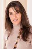 Brunette portrait Stock Photos