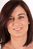 Brunette portrait, close-up Stock Photo