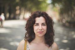 Brunette portrait Stock Photography
