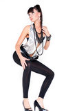 Brunette 'sexy' novo Imagens de Stock Royalty Free