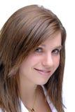 brunette shy Στοκ εικόνα με δικαίωμα ελεύθερης χρήσης
