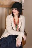Brunette teen Stock Photography