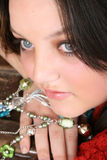 Brunette teen Royalty Free Stock Images