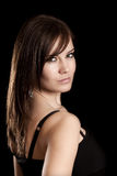 Brunette woman Stock Images