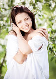 Brunette woman Royalty Free Stock Photography