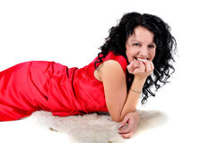 Brunette woman Royalty Free Stock Image