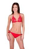 Brunette Woman In a Bikini Royalty Free Stock Photos