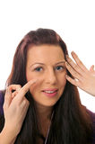 Contact Lenses Stock Image