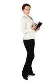 Brunette Woman In Business Dress Stock Photo