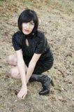 Brunette woman Stock Photos