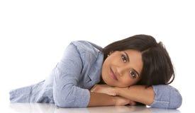 Brunette woman Stock Photo