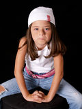 Brunette Young Girl Stock Images