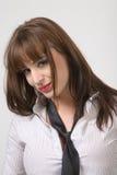 Brunettefrau Lizenzfreie Stockbilder