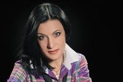 Brunettefrau Lizenzfreie Stockfotografie