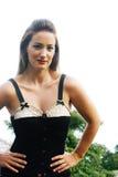 Brunettefrau Lizenzfreies Stockbild