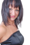 brunettflicka Royaltyfri Foto