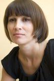 brunettkvinna Royaltyfri Foto