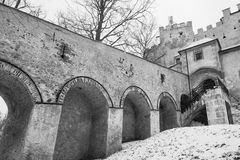 Brunico Castle Royalty Free Stock Images