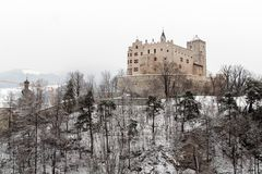 Brunico Castle Stock Image