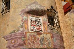 Brunico Castle, Detail. South Tyrol - Italy Royalty Free Stock Images
