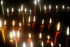 bruning свечки Стоковые Изображения RF