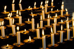 Bruning candles Stock Photography
