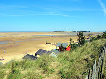 Brunn-nästa--hav Norfolk arkivfoton