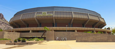 Brunnar Fargo Arena Shot, Tempe, Arizona royaltyfri foto