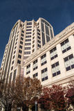 Brunnar Fargo Tower Building, Roanoke, Virginia, USA royaltyfri foto