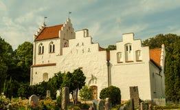 Brunnby-Kirche Stockbild