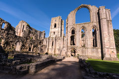 Brunnen Abbey Ruins in England Lizenzfreies Stockfoto