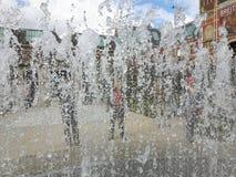 Brunnen in Amsterdam Stockfotografie