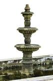 Brunnen auf einem weißen Hintergrund Lizenzfreies Stockfoto