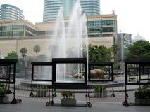 Brunnen Bangkok Stockbild