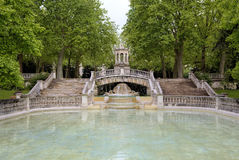 Brunnen Darcy Dijon, Burgunder, Frankreich Lizenzfreies Stockfoto