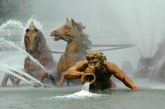 Brunnen in den Gärten von Versailles Lizenzfreie Stockfotos