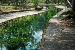 Brunnen der heißen Quelle Stockbilder