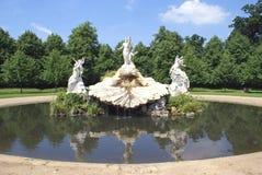 Brunnen der Liebe, Cliveden, Buckinghamshire, England Stockfotografie