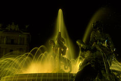 Brunnen der Naiads, Rom Stockfotografie