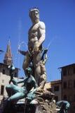 Brunnen der Neptun. Stockfotografie