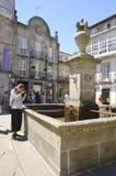 Brunnen in der Piazza Stockfoto