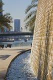 Brunnen in der Promenade Stockfotos