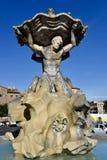 Brunnen der Titanen Stockfotos