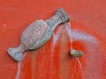 Brunnen des ?ffentlichen Wassers in den Stra?en von San Miguel de Allende lizenzfreie stockfotografie