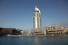 Brunnen in Dubai Lizenzfreies Stockfoto