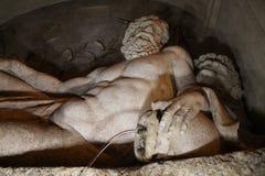 Brunnen durch Domenico Fontana bei vier Brunnen quadrieren, Rom, Ita Stockfotos