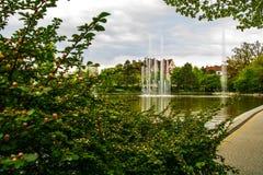 Brunnen, Frühling, opole, Polen Lizenzfreies Stockbild